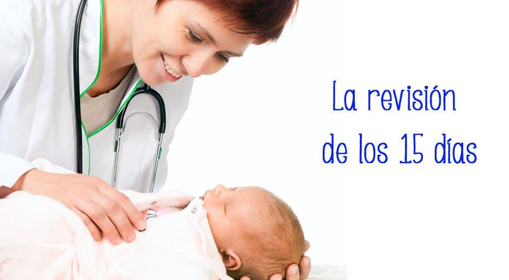 Cita con el pediatra: revisión 15 días