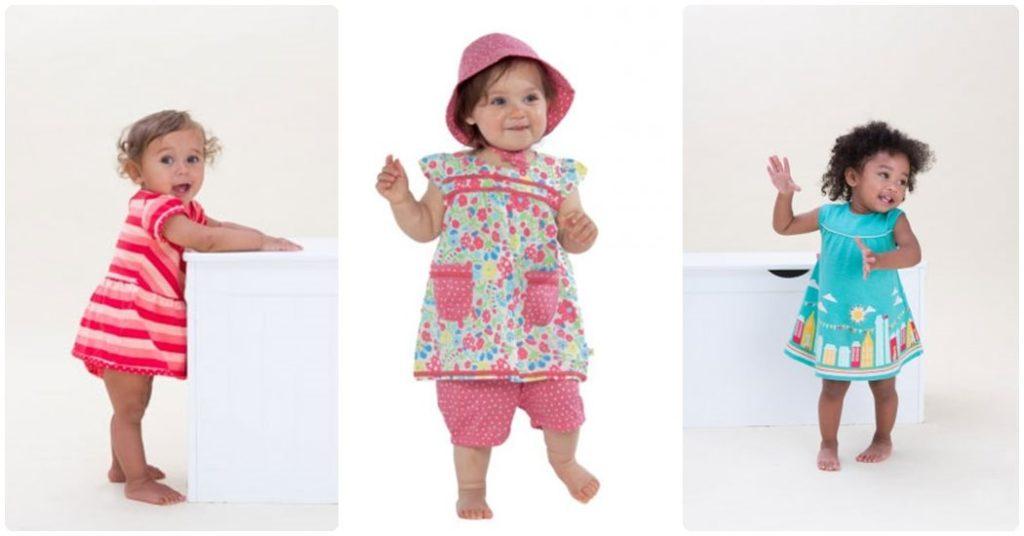 Ropa ecológica para bebés, vestidos