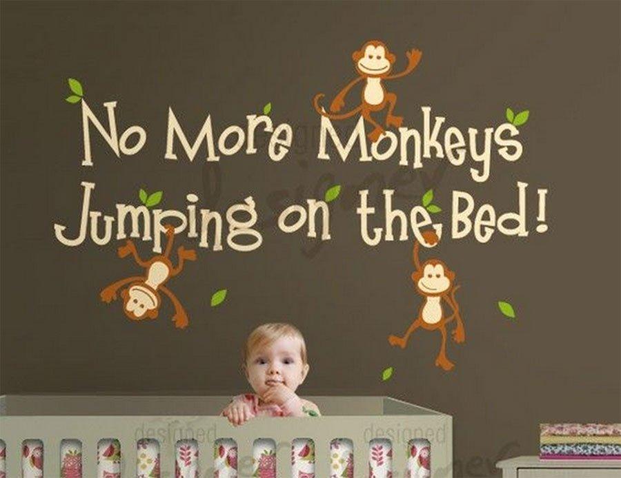 Vinilos infantiles para la habitación del bebé