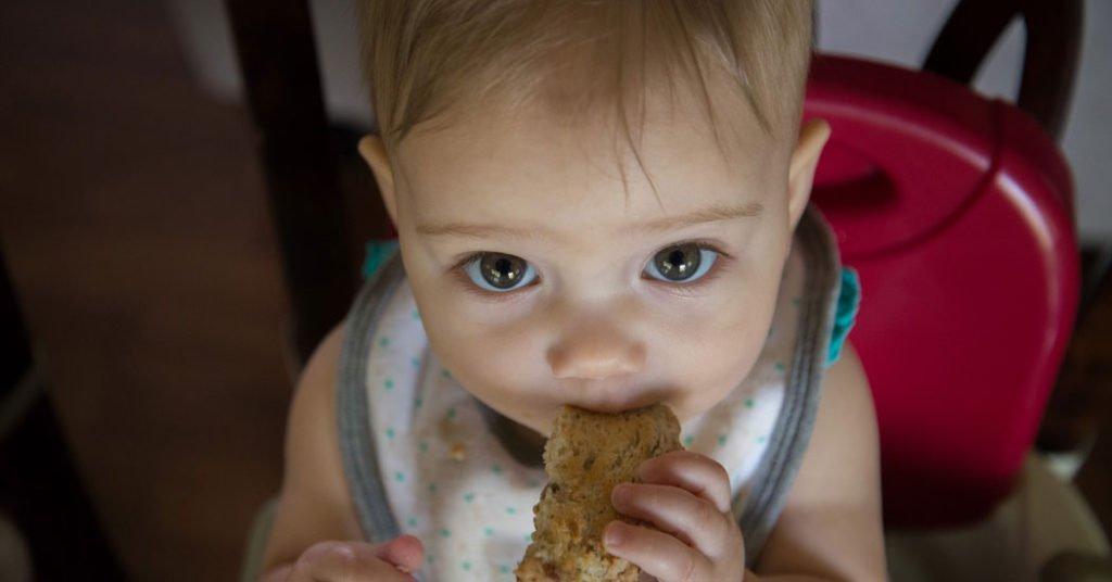 Alimentos con gluten en la dieta del bebé