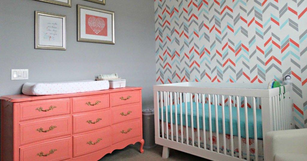 Cómo pintar una habitación de bebé