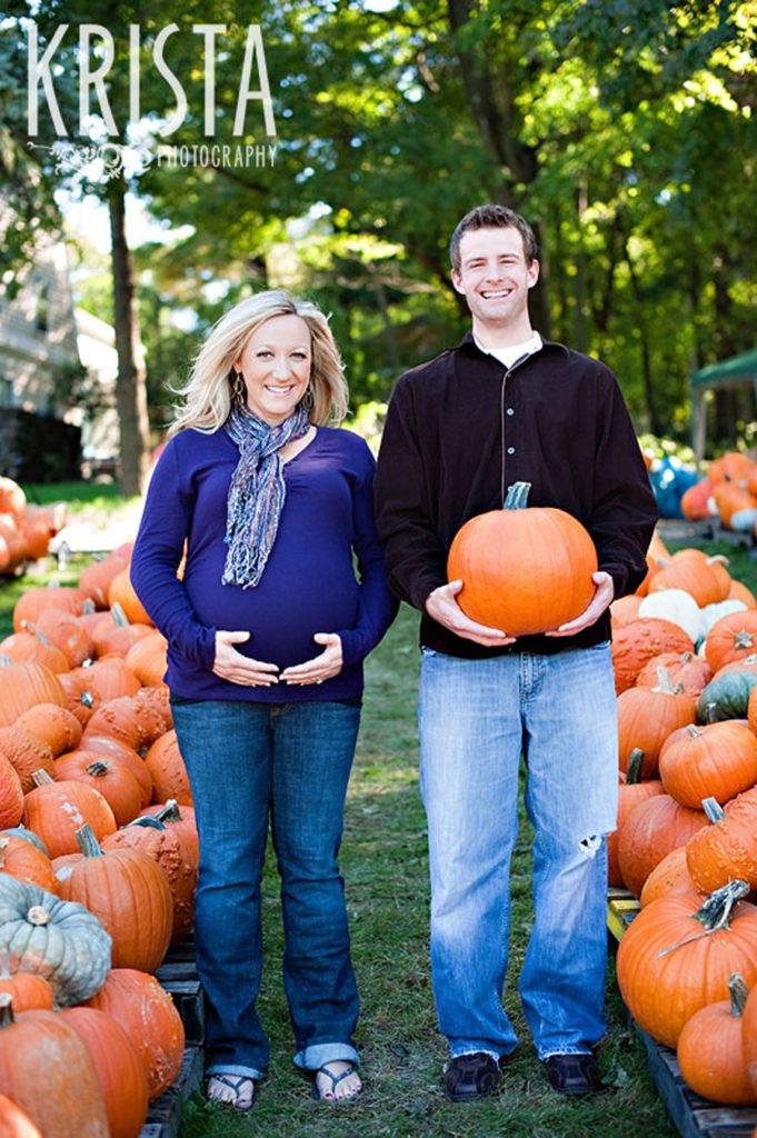 Fotos artísticas divertidas del embarazo