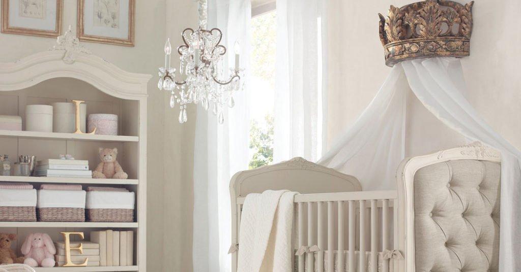 Habitación de bebé niña, inspiración