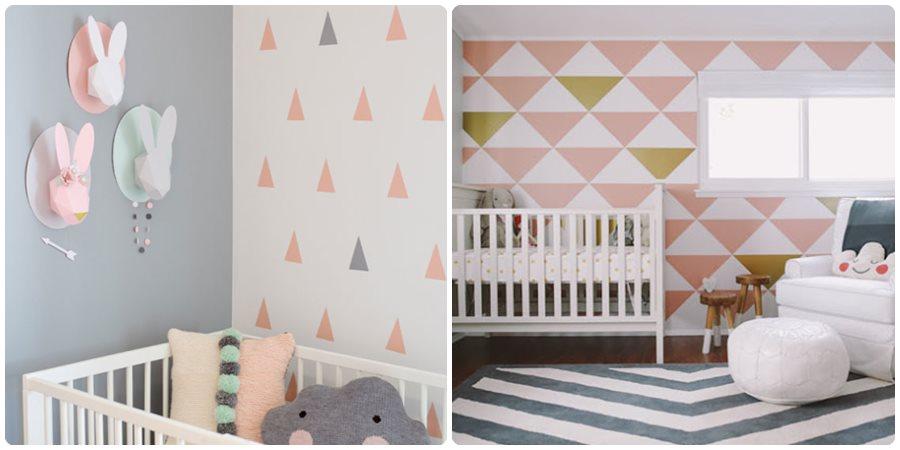 Cómo pintar las paredes infantiles