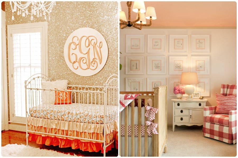Habitación de bebé niña, cómo decorar