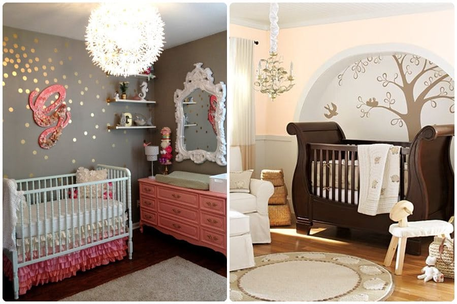Habitación para bebés, decoración