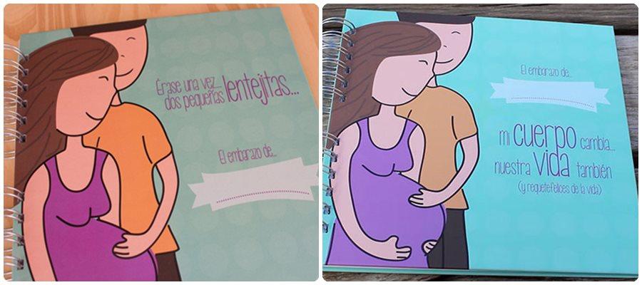 Regalos originales: libros de embarazo