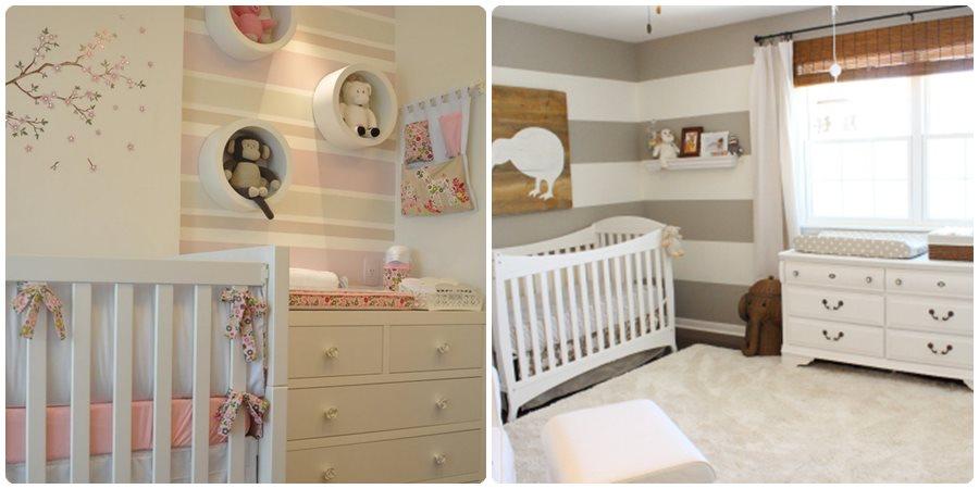 Pintar las paredes del dormitorio infantil