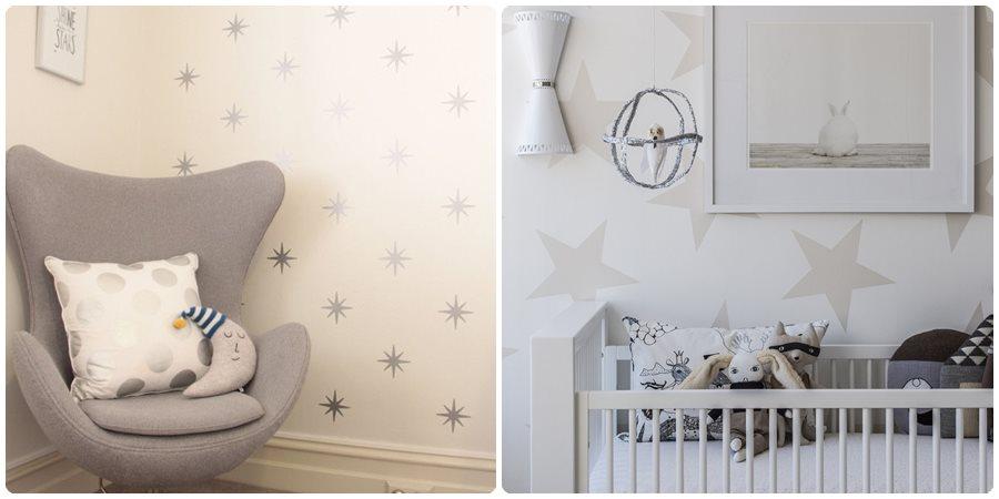 Pintar una habitación para bebés