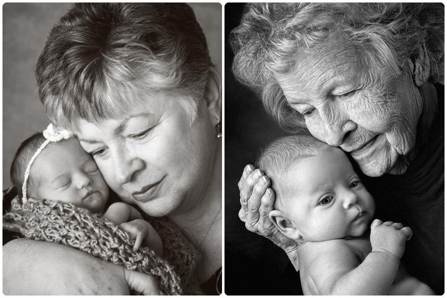 Fotos de abuelos y nietos