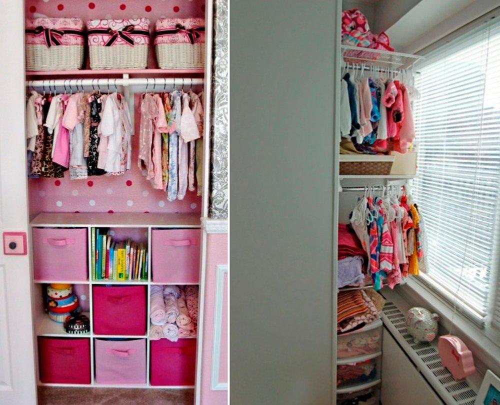 Habitaciones de bebé pequeñas: aprovechando los espacios muertos