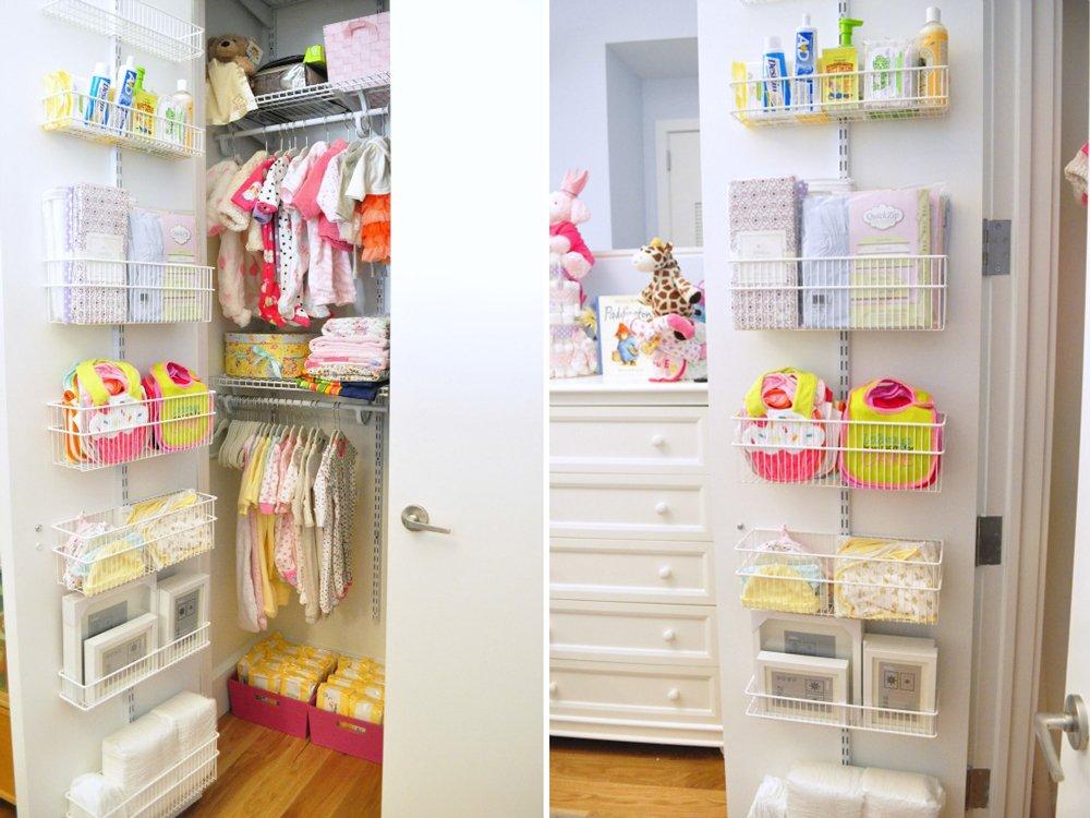 Como aprovechar al máximo el espacio en el armario del bebé
