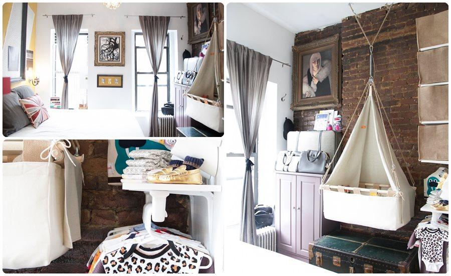 Habitaciones de bebés en pisos pequeños