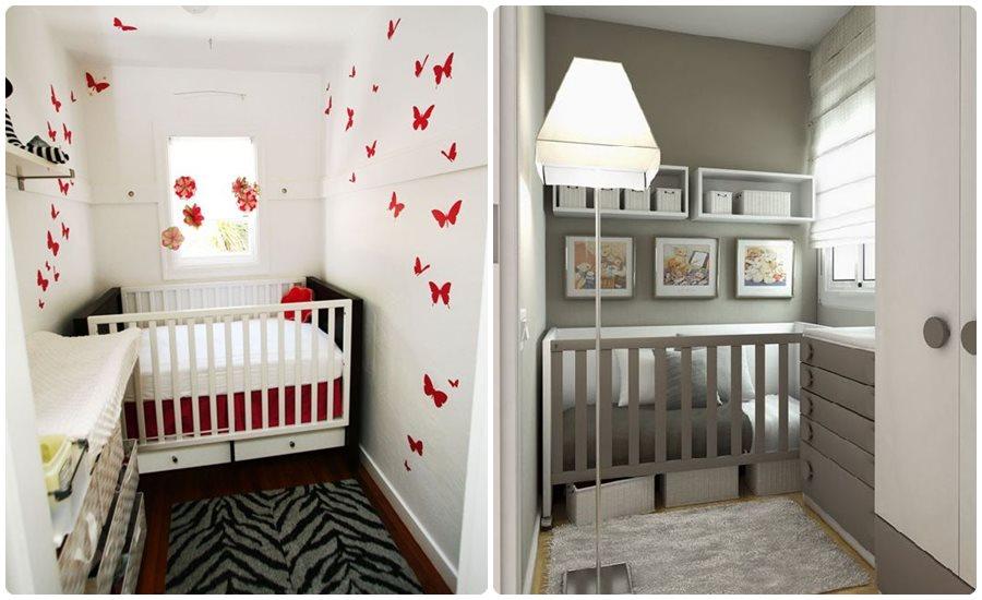 Pisos pequeños: decorar habitaciones bebés