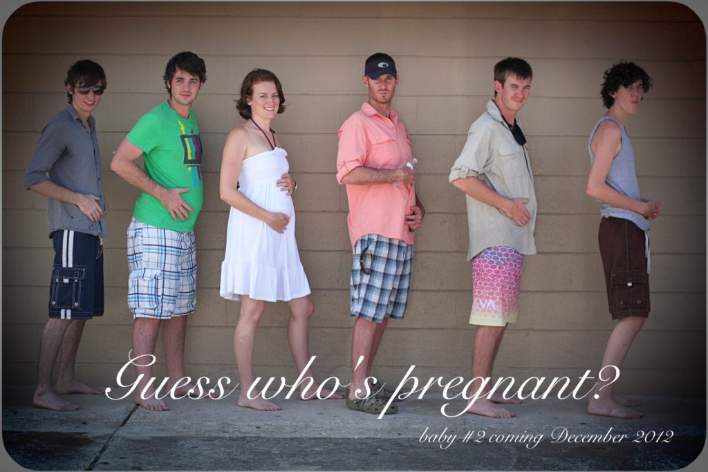 Fotos divertidas del embarazo