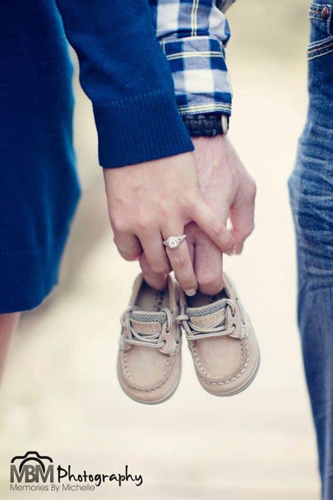 Anunciar el embarazo con fotos