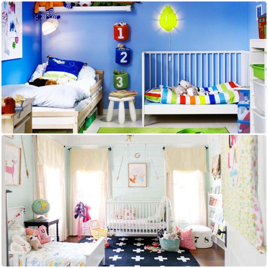 Ideas de decoración para habitaciones compartidas
