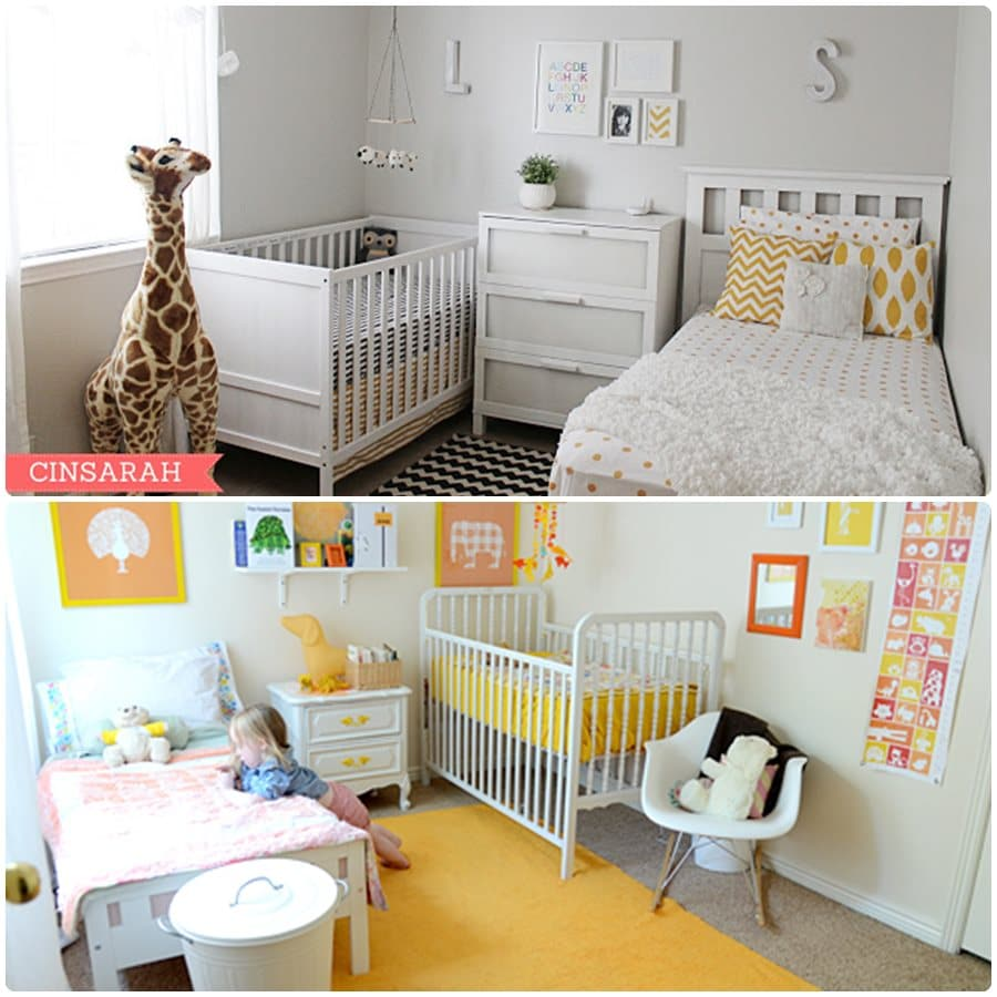 Decoración infantil de habitaciones compartidas