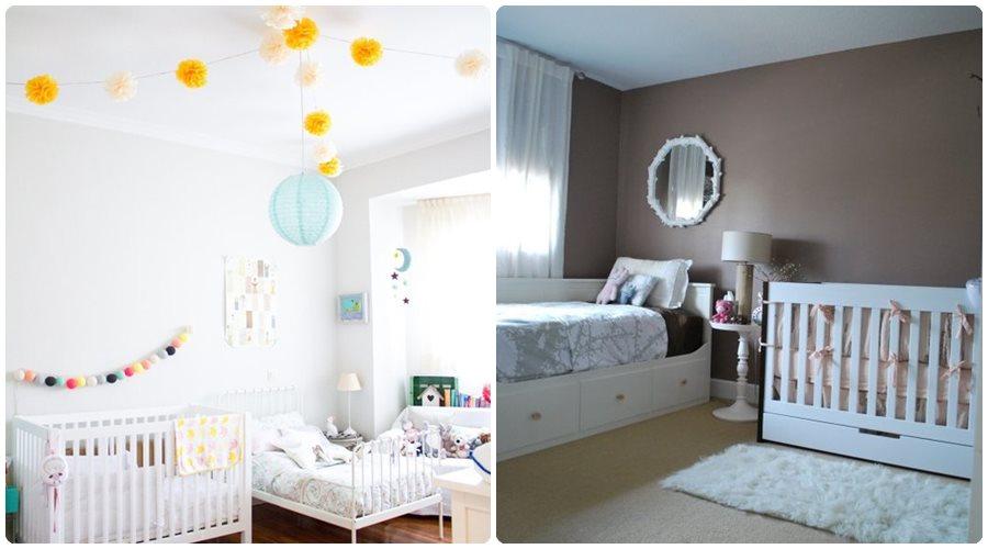 Decoración infantil: habitaciones compartidas