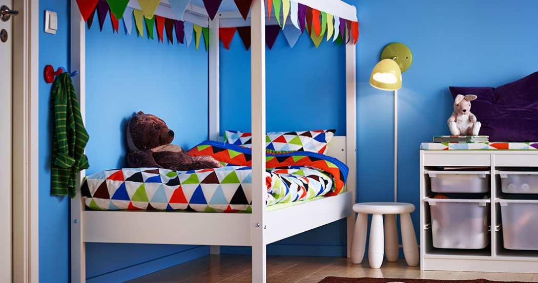 Baúles infantiles ¡para mantener la habitación en orden!