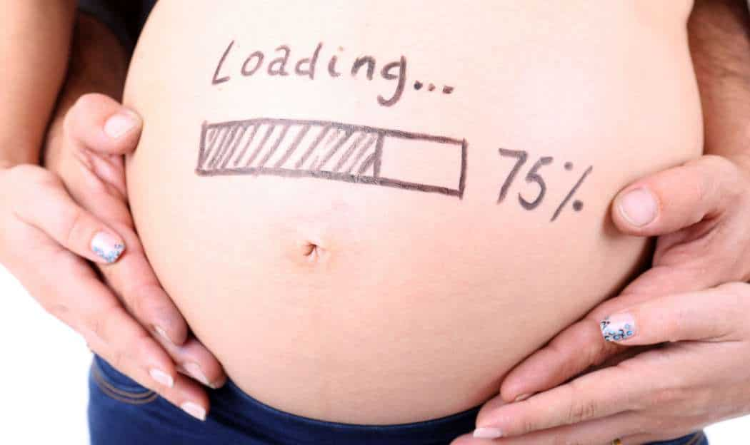 Calendario del embarazo con las pruebas de la Seguridad Social