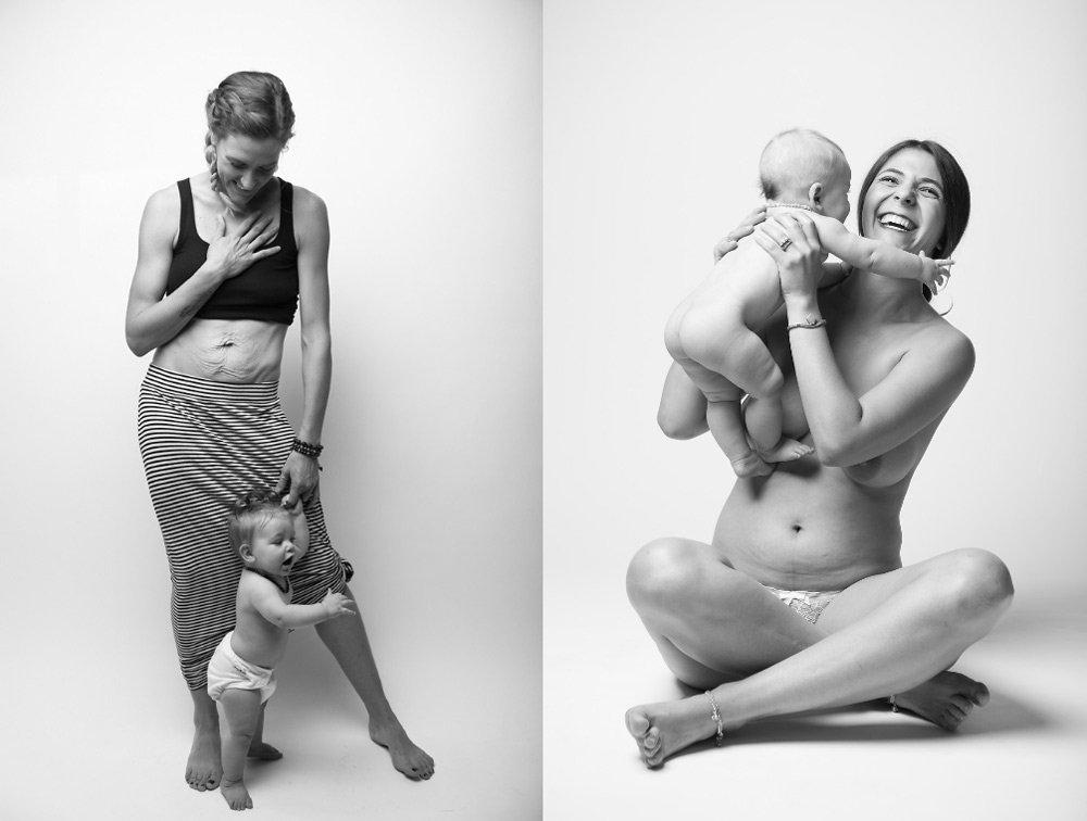 fotos de madres sin retoques