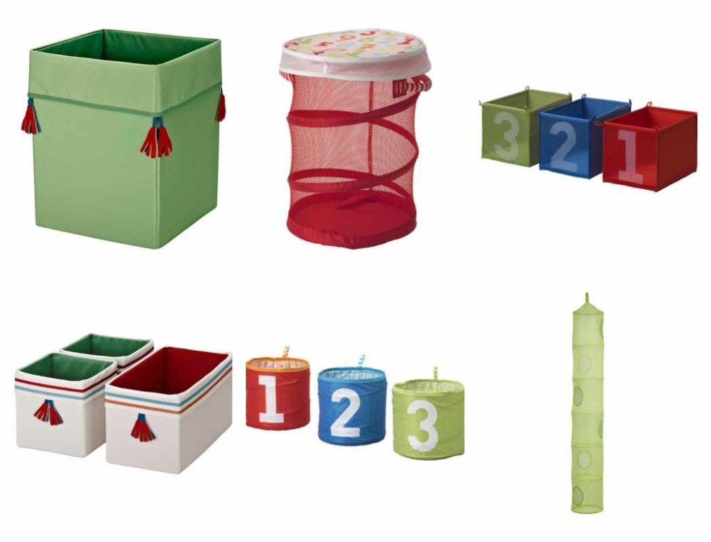 Cestos y cajas para juguetes
