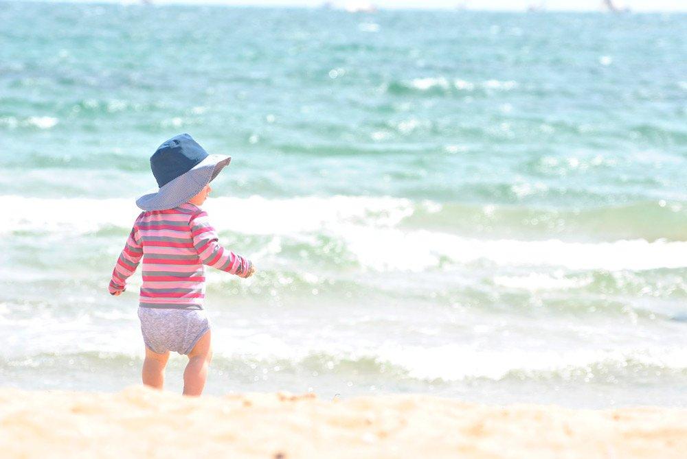 Juegos para bebes ideales para la playa
