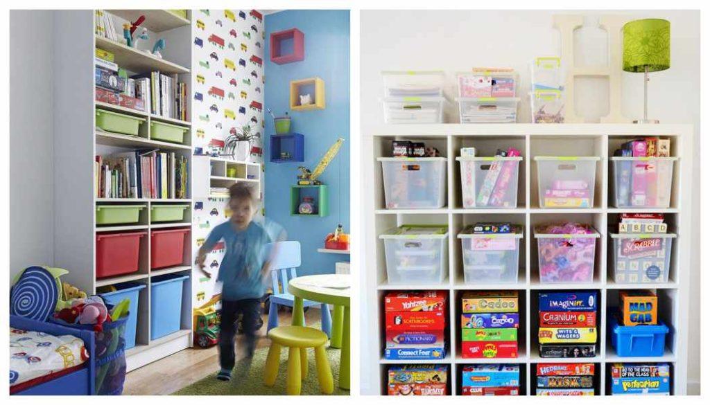 Baúles infantiles: con cajas de plástico