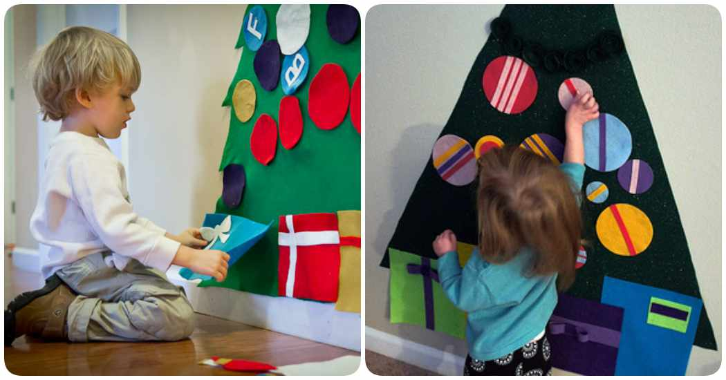 Cómo hacer un árbol de Navidad en fieltro: ¡3 ideas!