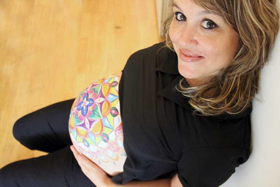Belly painting y fotos de embarazo