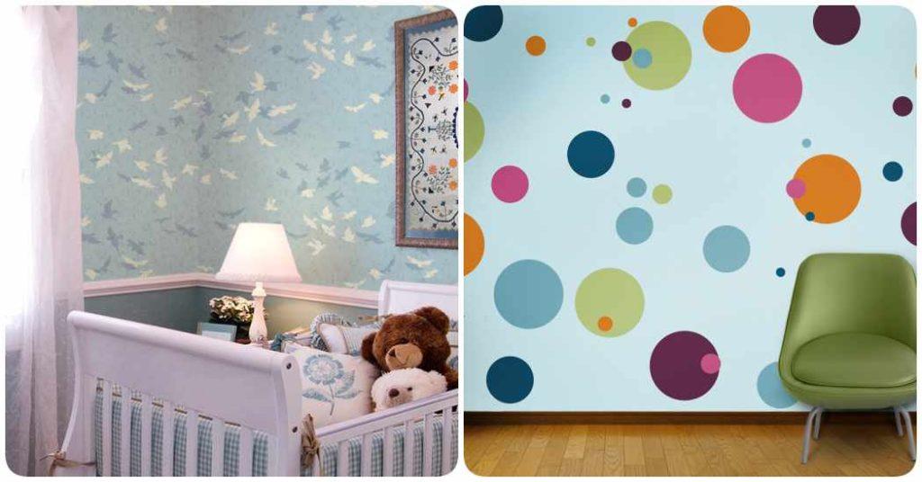 Decorar las paredes de la habitación del bebé