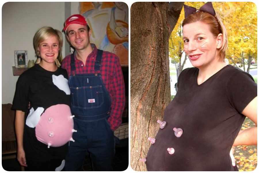 Disfraces de animales para embarazadas