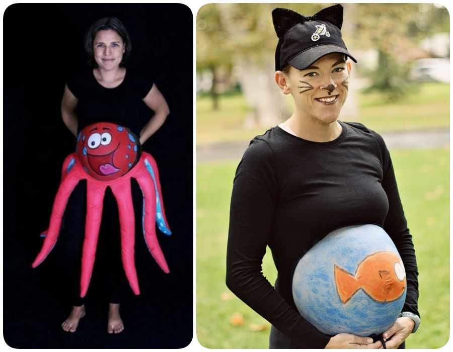 Disfraces para embarazadas: sorprende en Halloween