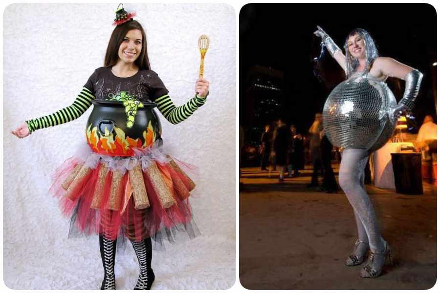 Disfraces de Halloween en el embarazo