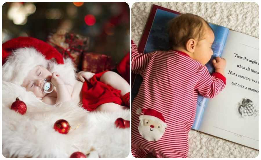Fotos de bebés para Navidad