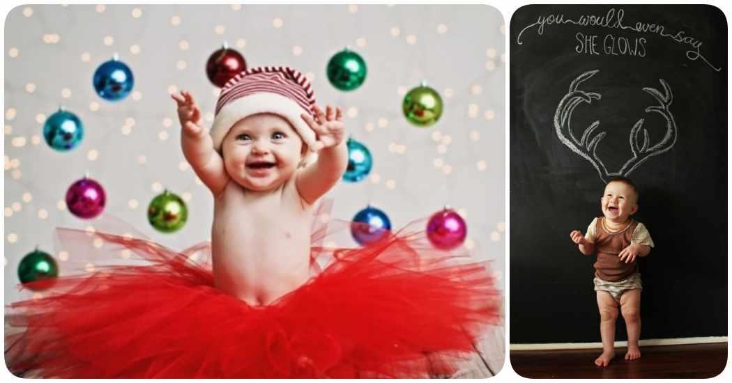 Inspiración para hacer fotos de Navidad