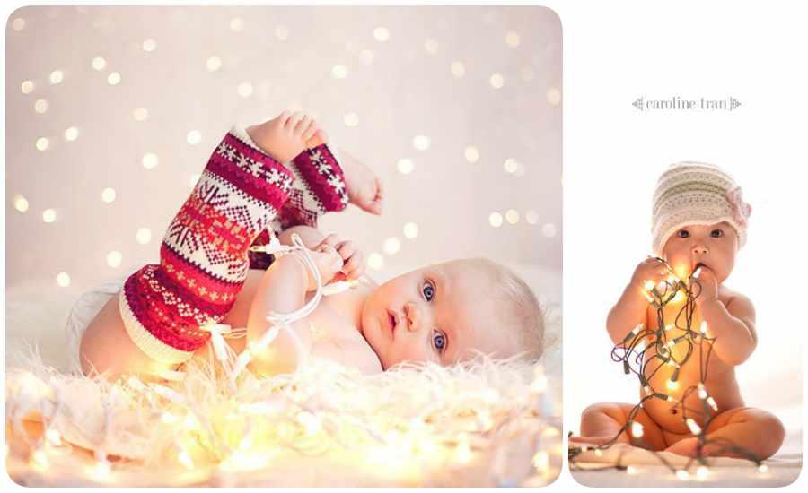 Fotos artísticas de Navidad