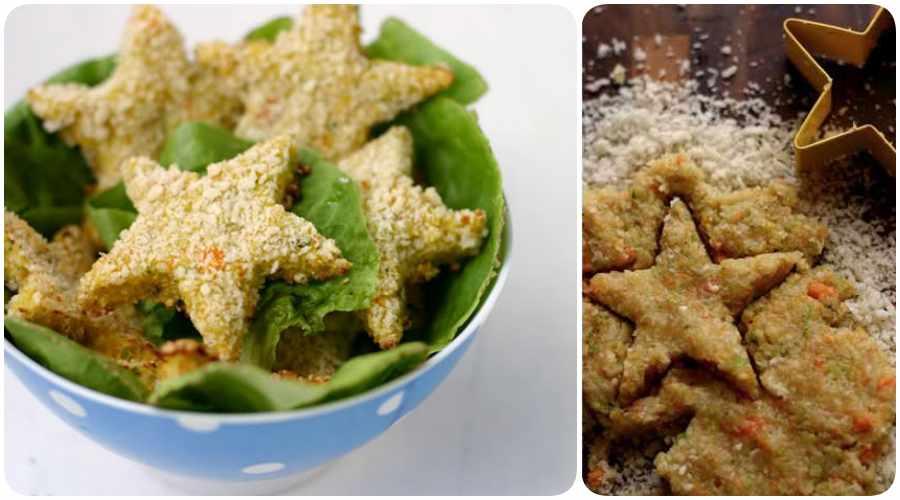 Receta de nuggets de pollo y verduras