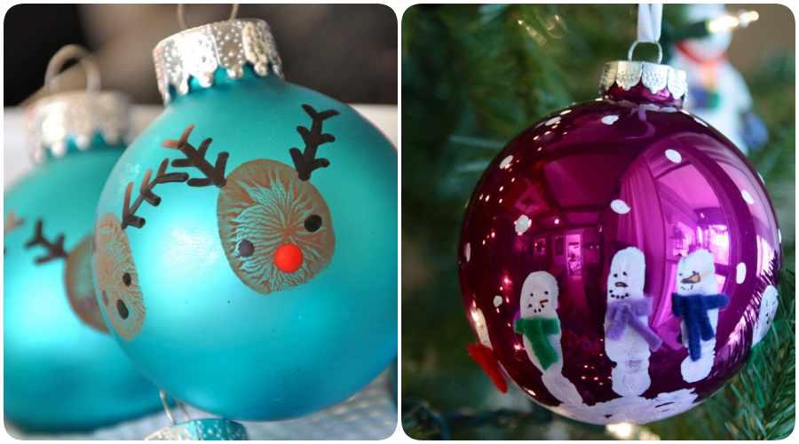 Manualidades de Navidad: ornamentos para el árbol