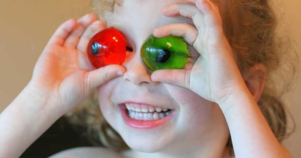 Recetas de Halloween, ojos comestibles