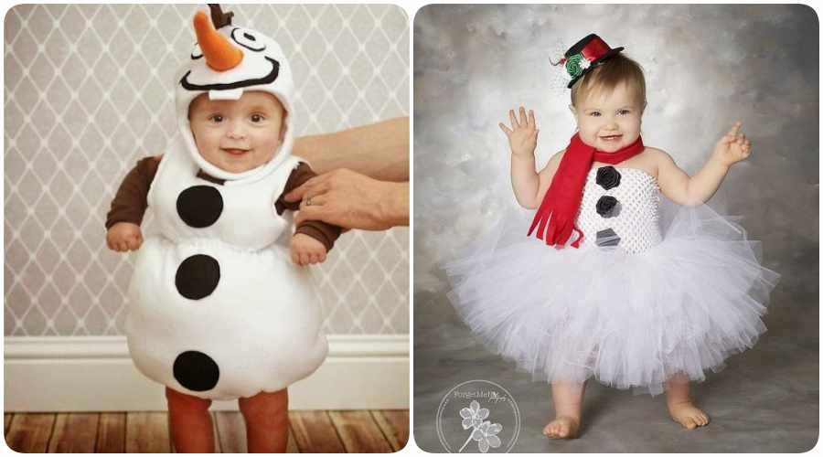 Cómo hacer disfraces originales de Olaf