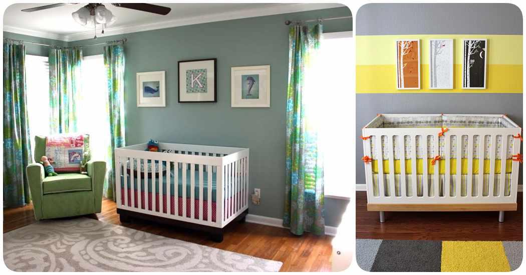 Elegir el color de la habitación del bebé