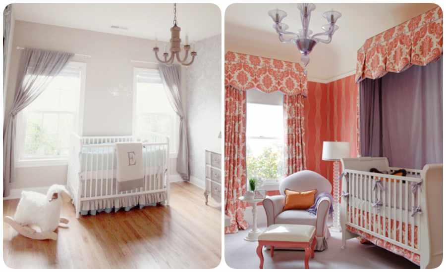 Dormitorios infantiles: decoración de la nursery