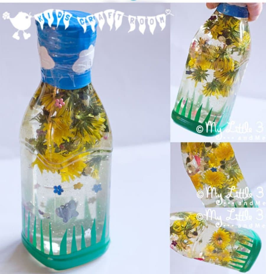 Manualidades para niños: botellas sensoriales