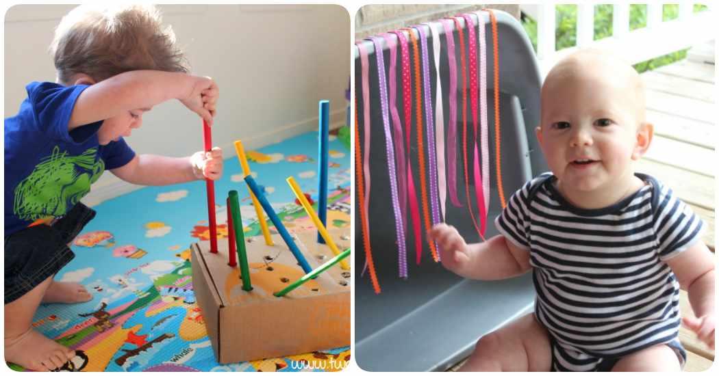 Cómo hacer juguetes reciclados para bebés