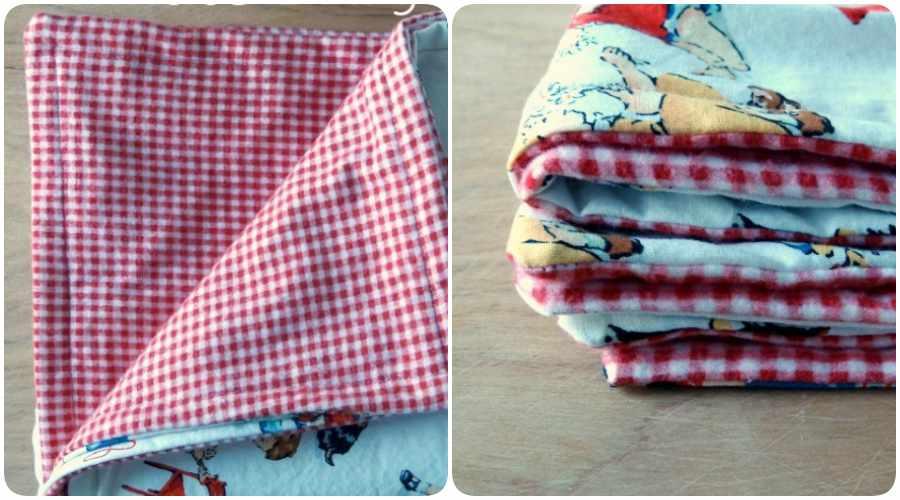 Cómo hacer una manta para bebé fácil