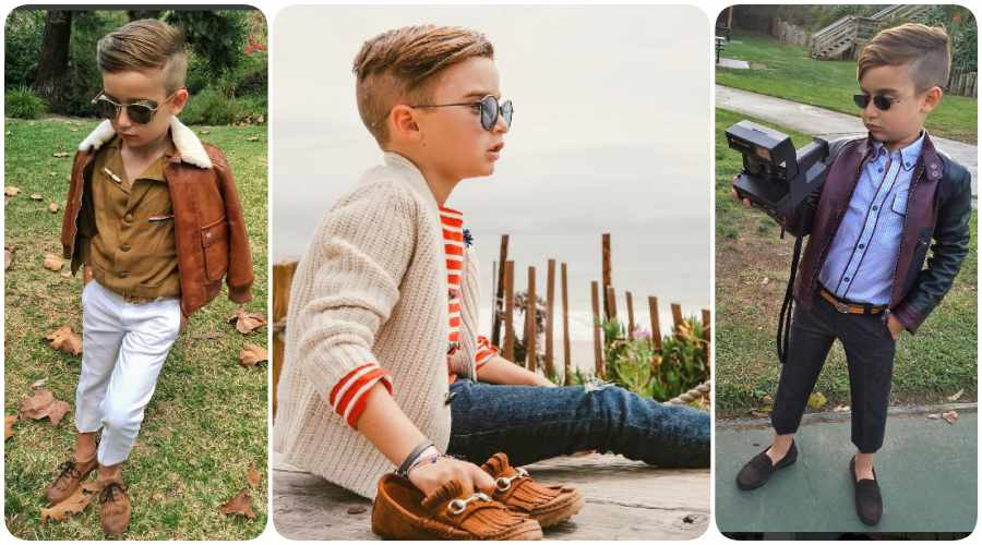 Niños con estilo en Instagram