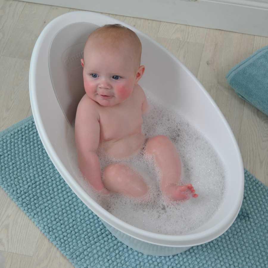 Bañera para bebés Shnuggle, descúbrela