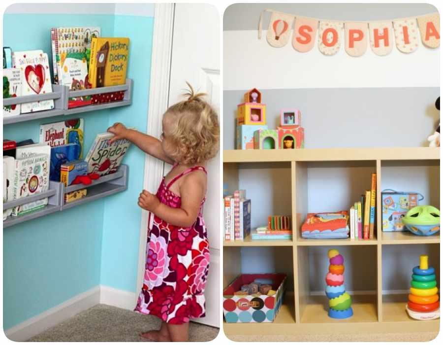Decoracion infantil con filosofia Montessori